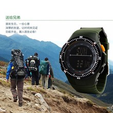 2015 New Colck Double Time Zone,Alarm,Countdown Multifunctional Men Dress diving dive watch