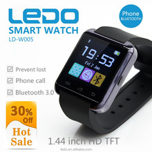 LEDO low price accept paypal bluetooth u8 smart watch for android phone