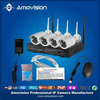 waterproof 1mp ip camera Outdoor Wireless WIFI 720p hd network video surveillance recorder nvr CCTV camera security system kit