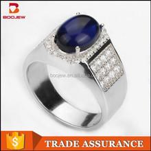 2015 new arrival fashion jewelry unique design 925 silver men's rings wholesale factory price