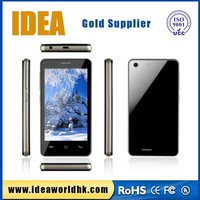 4 inch 3G wifi MTK6572 Dual core 1.3G MHZ ultra slim android smart phone with super slim design