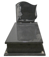 Granite Line Carving Tombstone & Monument