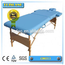 therapy wooden massage table