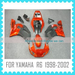 Aftermarket motorcycle Fairing for YAMAHA R6 1998 1999 2000 2001 2002