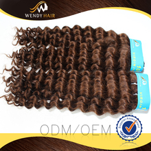 2015 New Design DEEP CURL hair 100 percent human hair india