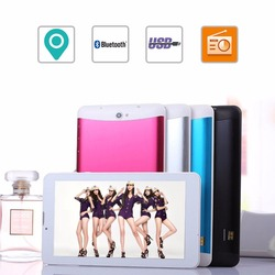 """7"""" Dual Core Android Tablet PC Dual Camera WiFi 3G Dual SIM Card Bluetooth Phone"""