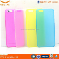 Hot Ultra thin Soft PP custom made phone cases