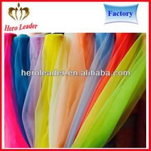 2015 New develop uv resistant silk organza fabric india