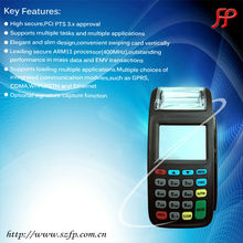 handheld cash register pos machine touch screen pos terminal rfid smart card reader/writer
