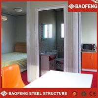 insulated low cost prefabricated living european container house with accessories