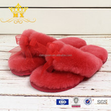 Shearling Sheepskin Slippers Women Slipper