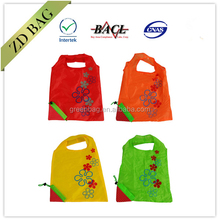 reusable cheap fruit folding shopping bag