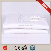 2015 hot sale polyester electric bed sheet with CE GS Rohs certificate