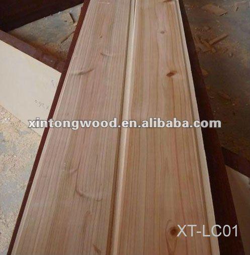 Solid Wood Wall Paneling : Cedar solid wood wall panels