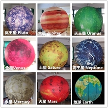 2015 hottest nine inflatable hanging Planet Solar system balloons