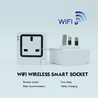 2016 innovation creative USA UK EURO wifi smart sockets support make your app free