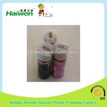 3.5 inch color pencil in round tin box,pencil set, color pencil