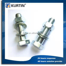 dacromet finish cheese head bolt for automobile