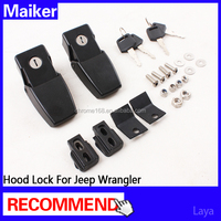 Hood Lock(side) for jeep wrangler accessories car hood lock