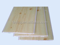 Plastic water proof wooden design pvc ceiling panel for interior room