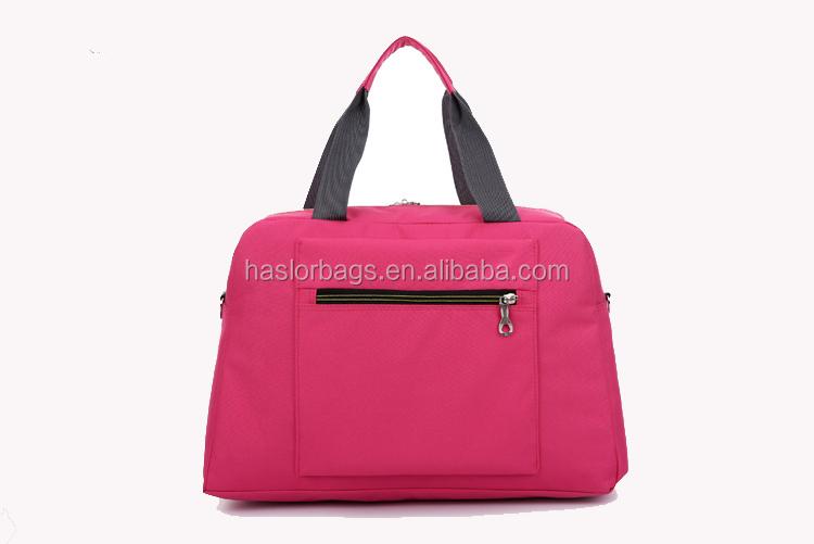 Oem de haute qualité impression voyage pas cher sacs fabriqués en chine fabricant