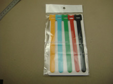 back to back double sided velcro cable tie