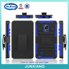 new design mobile phone shell back case cover with belt clip stand for galaxy note 4 edge