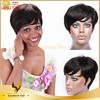 Unprocessed wholesale 5a grade raw natural short human hair wigs for young women
