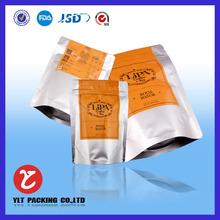 Custom aluminum foil standup zipper pouch food bag for beef jerky