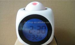 Hot Sell Projector Clock LED Digital Projector Alarm Clock lcd projection alarm clock