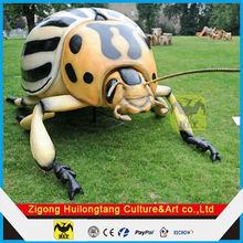 Modelo de los Insectos en fibra de vidrio resina mariquita estatua