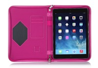 2015 New Arrival Rotation Design Tablet Protective Cases For iPad Air 2