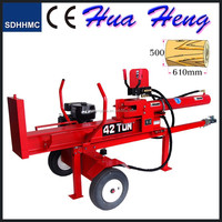 CE approved wood log cutter and splitter,Honda engine