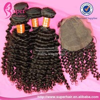 Peruvian human hair 7a bundles with closure,whole sale human hair boundles,swiss lace for hair ventilation