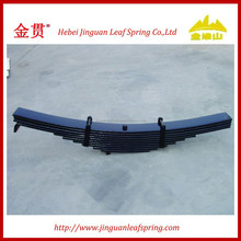 semi trailer parabolic and conventional auto parts leaf spring assembly suspension