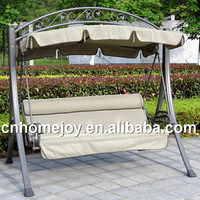 High quality unique garden swing, luxury garden swings with canopy