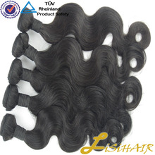 Wholesale Human Virgin Remy Clip In Eurasian Hair Extensions