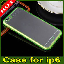 "2014 HOT Transparent Clear TPU Rubber Gel Ultra Thin Case Cover For Apple iPhone 6 (4.7"")"