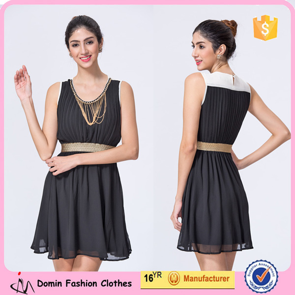 new design wholesale clothing manufacturers pleated