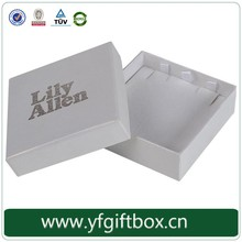 Trade Assurance Supplier!!! Hot Selling Custom Printing Paper Cardboard Pierced Earring Jewelry Box With Earring Holding Insert