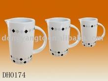 Factory direct wholesale customized porcelain water pot