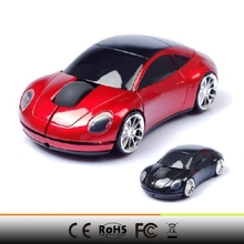 2015 hot selling Nano USB 2.0 receiver 1000DPI 2.4G Wireless Ultra-slim cool car type usb Mouse