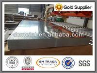 thermal conductivity of galvanized steel sheet