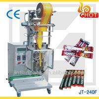 JT-240F small paper plastic / film bag pouch /Sachet packing machine