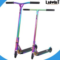 Neo chrome pro scooter rainbow adult scooters for sale freestyle HIC stunt scooter