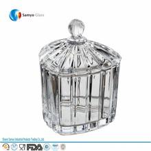 Samyo Glassware Manufacturer kilner 0.5 litre clip top glass storage jar