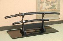 Japanese Value Katana:#14 Glossy Black