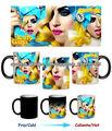 Lady Gaga Telephone - Taza Magica Magic Mug Tasse Tazza