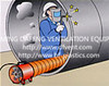 industrial flexible ventilation ducting for welding project