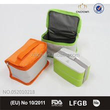 Storage box pp food container with handle warmer bag